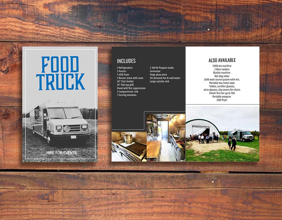 Food Truck Brochure