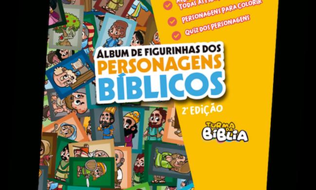 Álbum de Figurinhas dos Personagens Bíblicos
