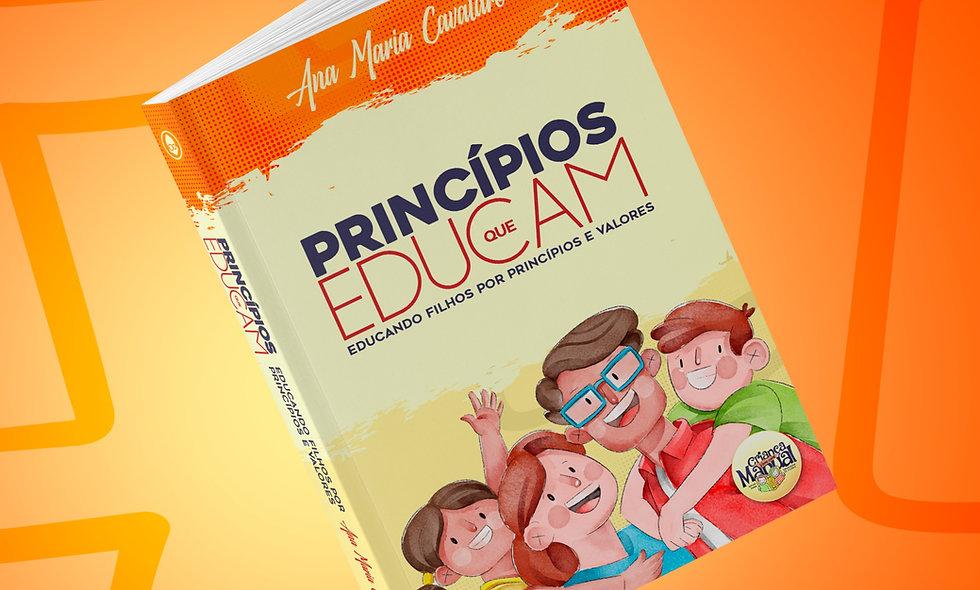 CURSO / LIVRO • PRINCÍPIOS QUE EDUCAM - EDUCANDO FILHOS POR PRINCÍPIOS E VALORES