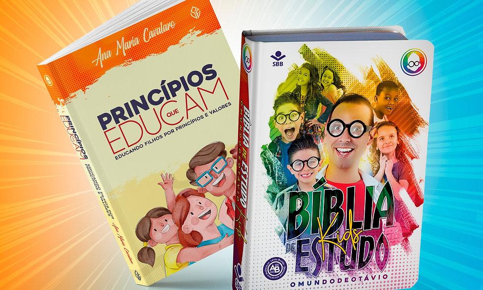 COMBO FAMÍLIA • LIVRO/CURSO + BÍBLIA DE ESTUDO