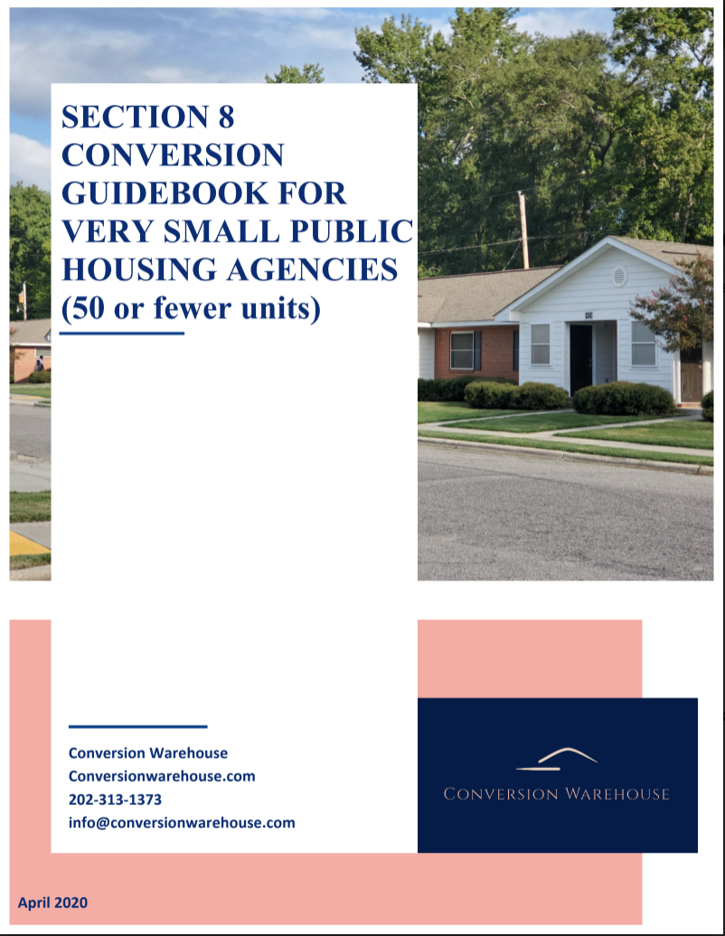 Conversion Guidebook cover page