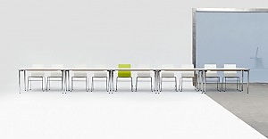 Concept bord med Gate 7000 stol
