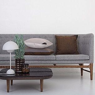 Mayor sofa og Fly Table fra Andtradition