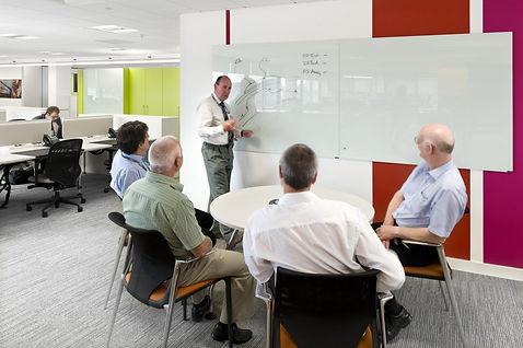 Chat Board glastavle til undervisning