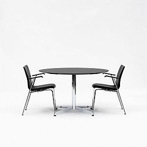 Gate mødebord med stjernefod