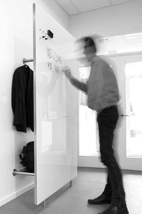 Chat Board Garderobe glastavle Wardrobe
