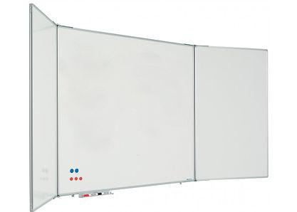 Whiteboard tavle med skrivebare låger