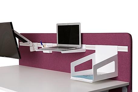 Boom bordskærmvæg med funktionsliste