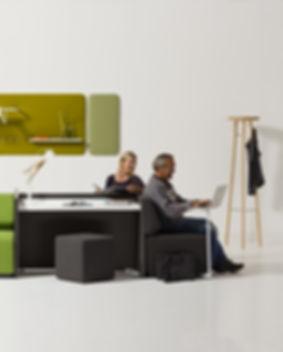 Offecct sofa-/bænkesystem er designet af arkitekt Thomas Pedersen og lanceret i samarbejde med Savir Design. Ideen bag NEXT er at skabe et let og komfortabelt kombineret sofa-/bænkesystem, der med relativt få elementer kan tilbyde et utal af varierede opstillinger af såvel åbne fællesarealer som lukkede møde- og fordybelsesområder. NEXT sikrer dermed adskillige anvendelsesmuligheder og skaber rammerne for positive og inspirerende læringsmiljøer. Udgangspunktet er et højt kvalitetsniveau, ergonomi og fleksibilitet.