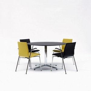 Gate Table rundt mødebord