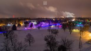 Lights of the Northwood night