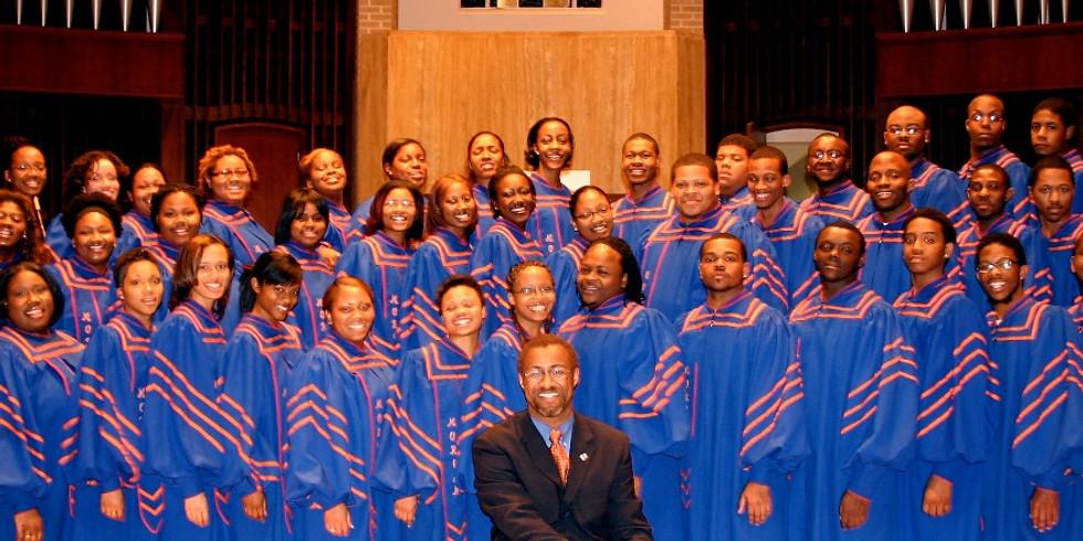 Gospelkonzert des Morgan State University Choirs