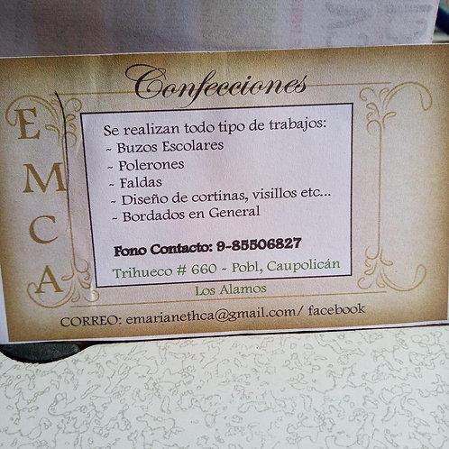 Taller de Corte y Confección E.M.C.A