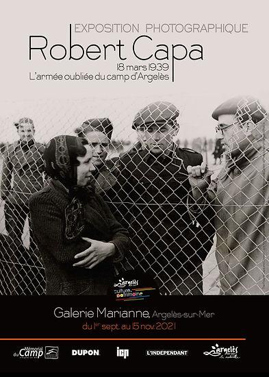 L'Armée oubliée du camp d'Argelès, Robert Capa