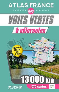 Atlas France des voies vertes et véloroutes