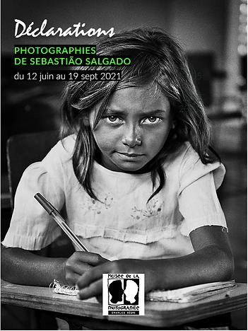 """""""Déclaration"""" photographies de Sebastião Salgado"""