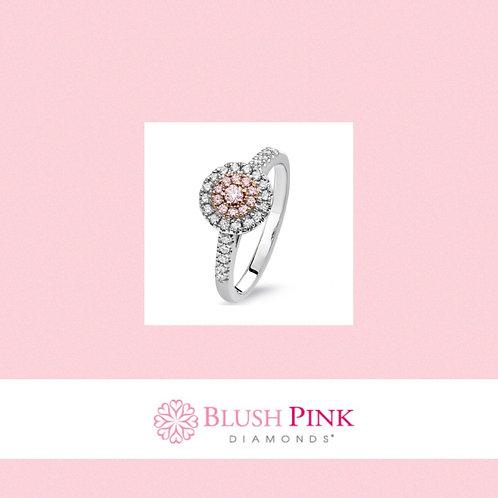 """Pink Diamond Ring """"AMELIA"""""""