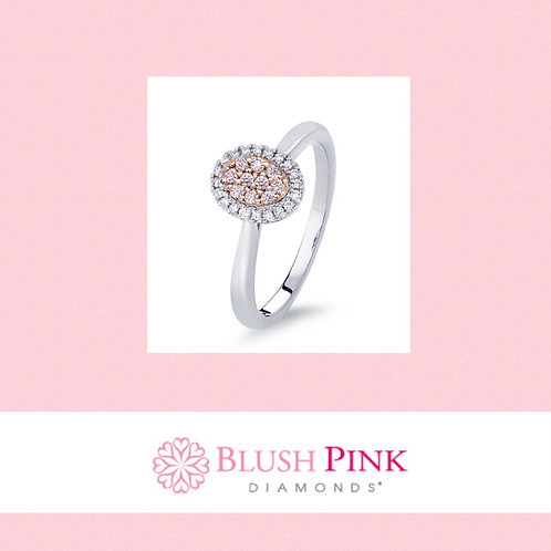 Blush Pink Diamond Ring