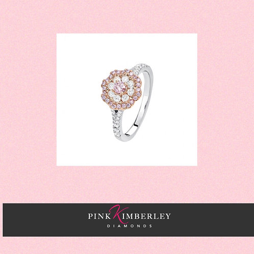 Pink Argyle Diamond Ring