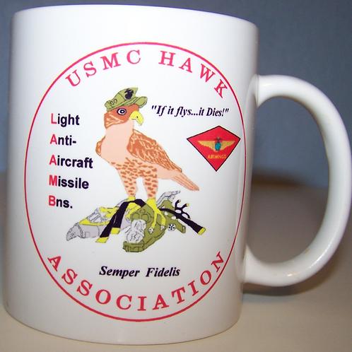 USMC HAWK ASSOCIATION COFFEE MUG