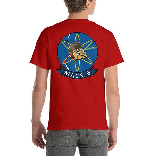 MACS-6 Tee Shirt Back Side