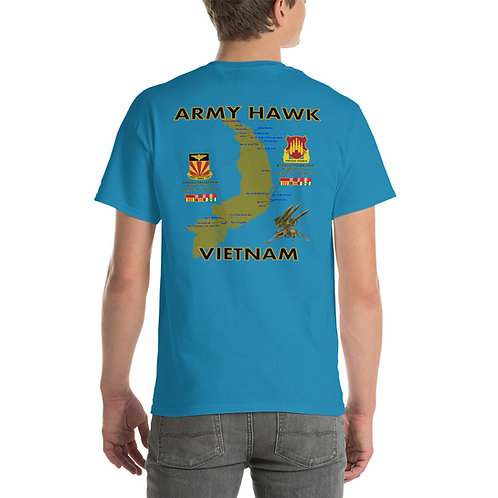 ARMY HAWK VIETNAM Tee Shirt Backside