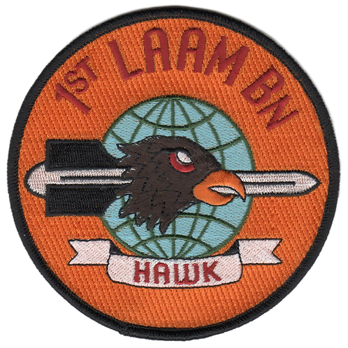 1L60P 1st LAAM Bn 1960 Jacket Patch