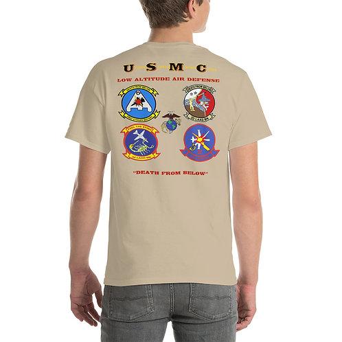 USMC LAAD UNIT Tee Shirts Backside