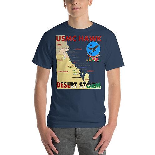 USMC HAWK DESERT STORM 2nd LAAM Bn Tee Shirt