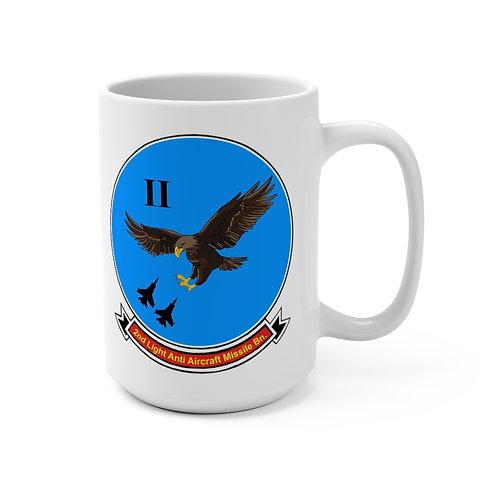 2nd LAAM Bn (1975 design) with MCAS Yuma graphic Coffee Mug