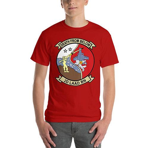 USMC 2nd LAAD Bn Tee Shirt Front