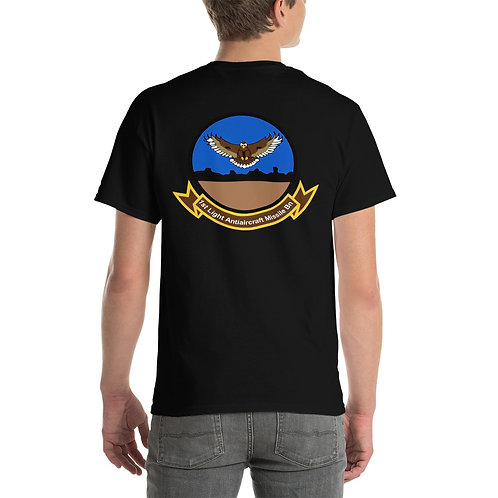 USMC 1st LAAM Bn 1980s Design Tee Shirt Backside
