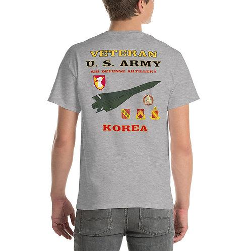 U.S. ARMY ADA VETERAN KOREA Tee Shirt Backside