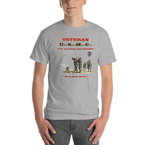 USMC LAAD Veteran Tee Shirt Front