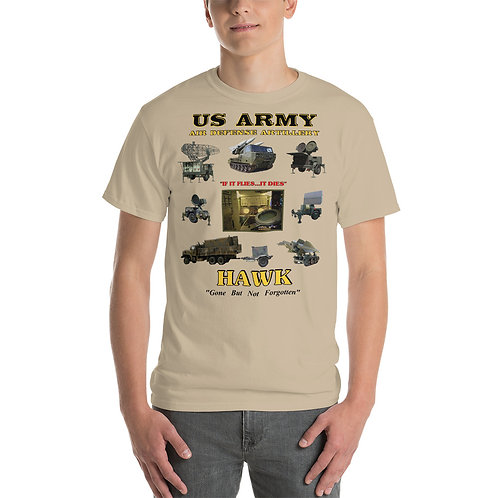 US ARMY HAWK EQUIPMENT Tee Sirt Front