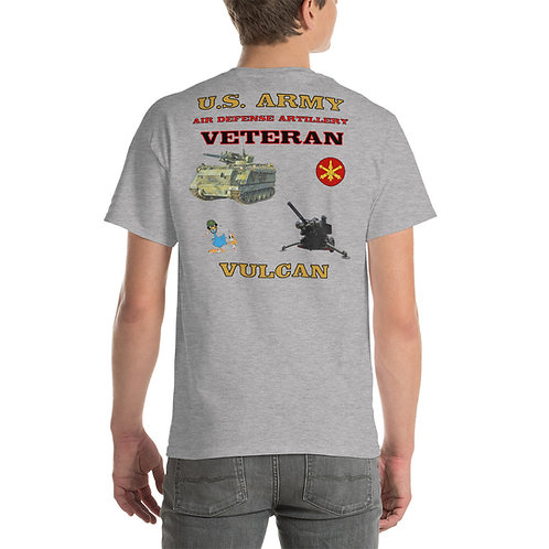 U.S. ARMY ADA VULCAN Tee Shirt Backside