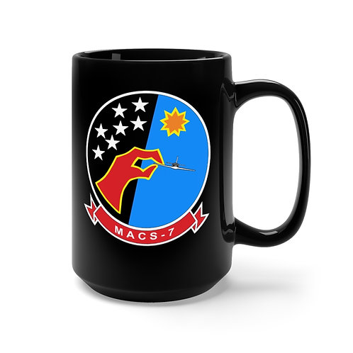 MACS-7/EGA Black Coffee Mug