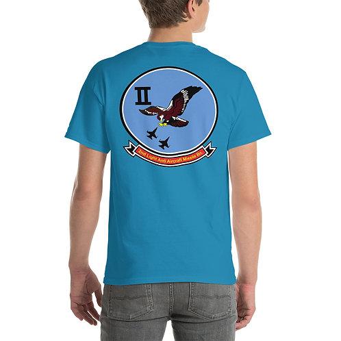 USMC 2nd LAAM Bn 1975 Design Tee Shirt Backside