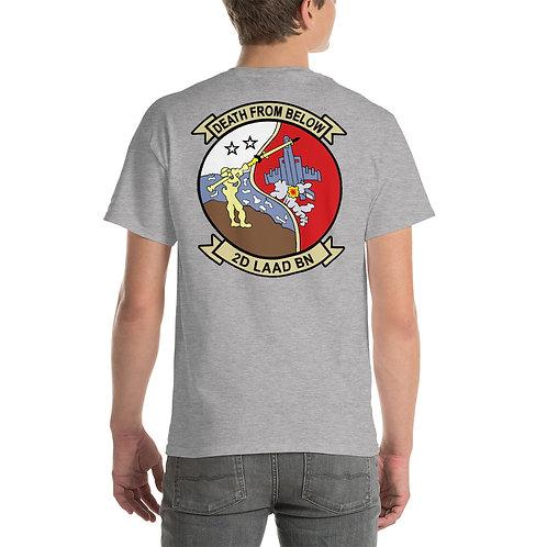 USMC 2nd LAAD Bn Tee Shirt Backside