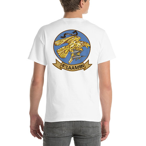 4th LAAM Bn Tee Shirt Backside