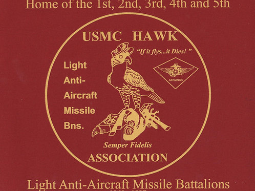 USMC HAWK ASSOCIATION MOUSE PAD