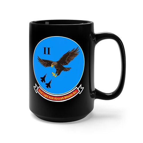 2nd LAAM Bn (1975 design) with MCAS Yuma graphic on black Coffee Mug