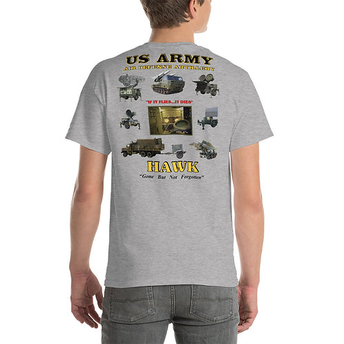 US ARMY HAWK EQUIPMENT Tee Shirt Backside