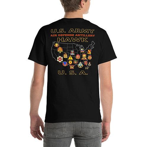 U.S. ARMY HAWK USA Tee Shirt Backside