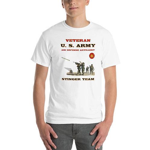U. S. ARMY STINGER VETERAN  Tee Shirt