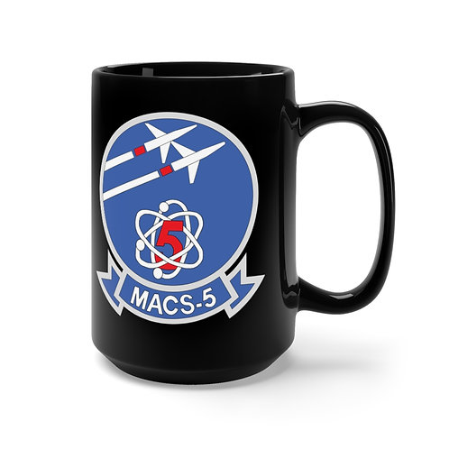 MACS-5/EGA Black Coffee Mug