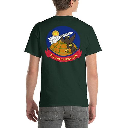 USMC 3rd LAAM Bn 1960 Design Tee Shirt Backside