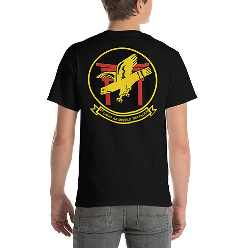 USMC 2nd LAAM Bn 1965 Design Tee Shirt Backside