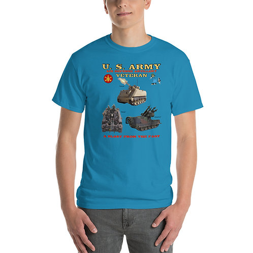 U. S. ARMY VULCAN DUSTER CHAPARRAL Tee Shirt Front