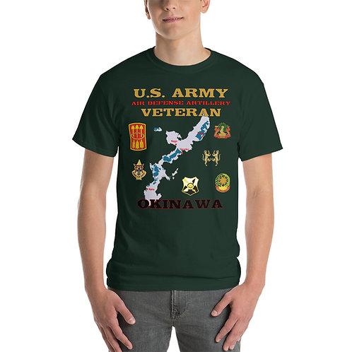 U.S. ARMY ADA OKINAWA Tee Shirt Front
